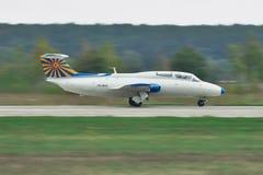 Aero- L-29 Delfin Imagen de archivo libre de regalías