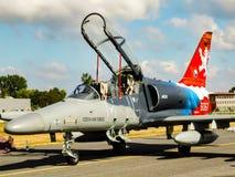Aero- L-159T1 Alca - tjeckisk stråle för militär utbildning arkivfoton