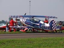 Aero- laboratorio Skybolt SP-YDS, Radom, Polonia de Steen Foto de archivo