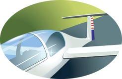 Aero plane. Tail of an  Aero plane Stock Photography