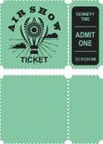 Aero przedstawienie bilet royalty ilustracja