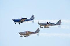 Aero AT-3 R100 auf Radom Airshow, Polen Lizenzfreie Stockbilder