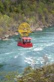 Aero- teleférico suspendido en el río salvaje de Niágara Whirlpool fotos de archivo libres de regalías