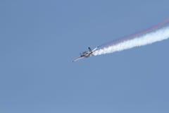 aerobatic αεροπλάνο Στοκ Εικόνες