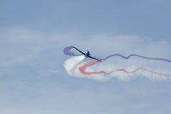 aerobatic αεροπλάνο Στοκ εικόνες με δικαίωμα ελεύθερης χρήσης