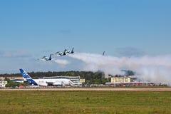 Aerobatic команда Стоковое Изображение