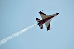 Aerobatic aircraft stock images