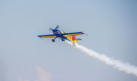Aerobatic Airplane royalty free stock image
