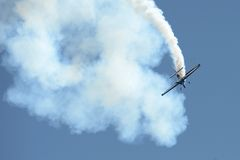 Aerobatic Airplane Stock Photography