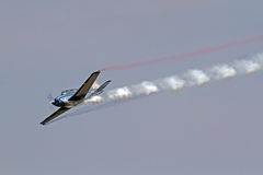 Aerobatic Airplane Royalty Free Stock Images
