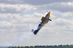 Aerobatic airplane Extra 300SR Stock Photos