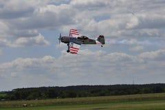 Aerobatic airplane Suchoj Su-31 Stock Image