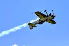 Aerobatic airplane Suchoj Su-31 Royalty Free Stock Photos