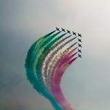Aerobatic airshow Lizenzfreies Stockbild