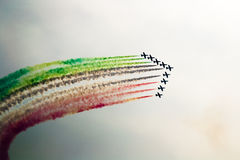 Aerobatic airshow Stockfotos