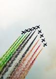 Aerobatic airshow Stock Images