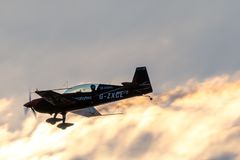 aerobatic blad visar laget royaltyfri foto