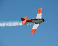 Aerobatic Demonstration Royalty Free Stock Images