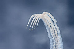 Aerobatic display Royalty Free Stock Photos