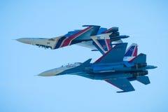 Free Aerobatic Display Team Russian Knights Royalty Free Stock Photo - 96778565