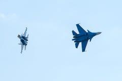 Free Aerobatic Display Team Russian Knights Stock Photos - 97674213