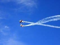 Aerobatic Erscheinen Lizenzfreies Stockfoto