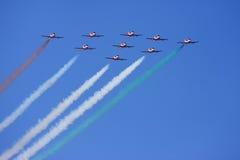Aerobatic Flug Stockfotografie