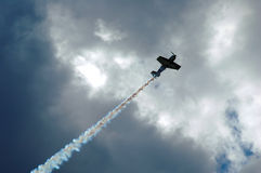 Aerobatic Flugzeug Stockfoto