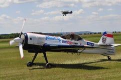 Aerobatic Flugzeug Suchoj Su-31 Lizenzfreies Stockbild