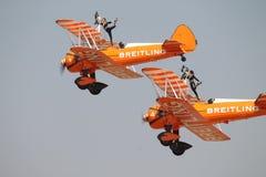Aerobatic Flugzeuge Lizenzfreies Stockbild