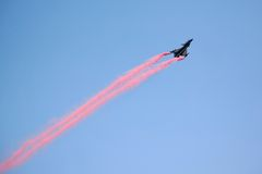 Aerobatic Flugzeuge Stockfotografie