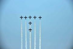 Aerobatic Flugzeuge Stockbilder