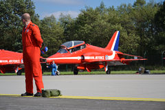 Aerobatic Flugzeuge RAF Stockfoto