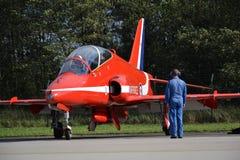 Aerobatic Flugzeuge RAF Lizenzfreies Stockbild