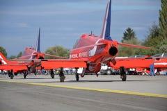 Aerobatic Flugzeuge RAF Lizenzfreies Stockfoto