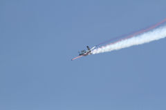aerobatic flygplan Arkivbilder