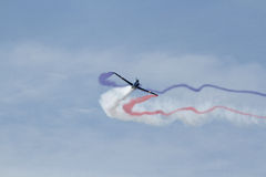 aerobatic flygplan Royaltyfria Bilder