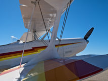 Aerobatic flygplan Arkivfoton