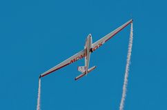 Aerobatic group formation Zelazny at blue sky Royalty Free Stock Photography