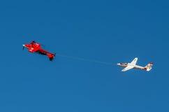 Aerobatic group formation Zelazny at blue sky Stock Photos