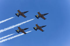 The aerobatic group Russ Royalty Free Stock Images
