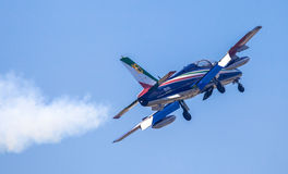 Aerobatic Gruppe Frecce Tricolori Stockfoto