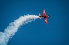 Aerobatic Gruppenbildung Zelazny am blauen Himmel Lizenzfreies Stockbild