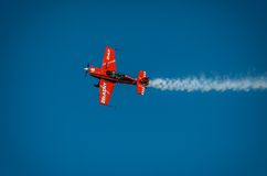 Aerobatic Gruppenbildung Zelazny am blauen Himmel Stockfoto