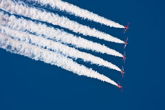 Aerobatic Jet Airplanes Royalty Free Stock Image