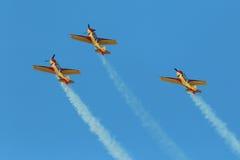 Aerobatic lag Royaltyfri Fotografi