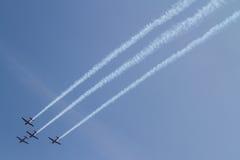 Aerobatic lag för Jupiter Royaltyfri Fotografi