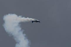 Aerobatic Leistung Lizenzfreie Stockfotos