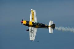 Aerobatic nivå royaltyfri fotografi