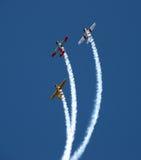 aerobatic nya lagwarbirds zealand fotografering för bildbyråer